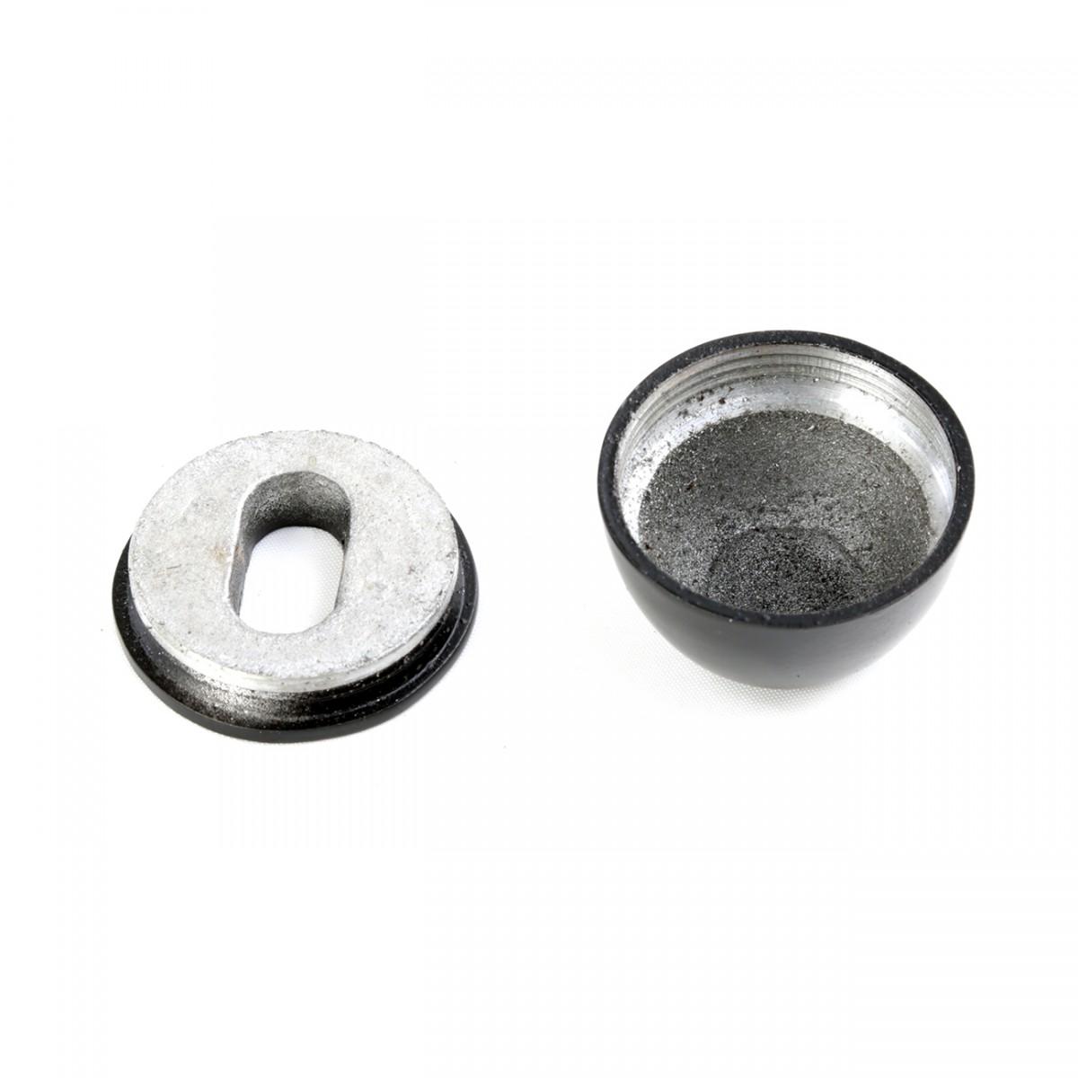 2 Black Toilet Bolt Covers Rustproof Aluminum Bolt Cover Caps Bolt Cover For Toilet Black Bolt Caps