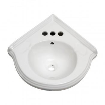 Bathroom Corner Sink White China Wall Mount Drainptrap corner sink Bathroom Sinks white corner sink