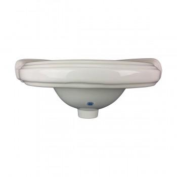 <PRE>Bathroom Corner Sink White China Wall Mount Drain/p-trap </PRE>zoom14