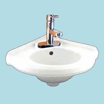 <PRE>Bathroom Corner Wall Mount Sink Faucet P-trap Drain Incl </PRE>zoom2
