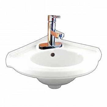 Bathroom Corner Wall Mount Sink Faucet P-trap Drain Incl 17641grid