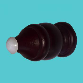 <PRE>Door Stop Red Cherry Wood Victorian Bumper Screw-In </PRE>zoom2