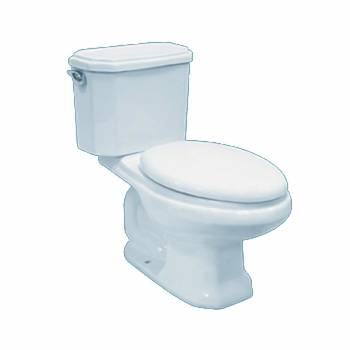American Classic Toilet-White Elongated