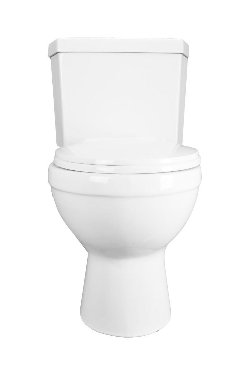 Renovators Supply Dual Flush Two Piece Corner Toilet with Round Bowl White Modern Round Toilet Corner Ceramic Toilet Dual Flush Toilet
