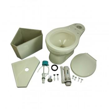 <PRE>Biscuit Round Bowl Corner Bathroom Toilet Push Button Dual Flush Water Saver</PRE>zoom9