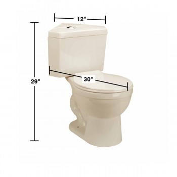 spec-<PRE>Corner Toilet Biscuit China Round Bowl Push Button Dual Flush Water Saver</PRE>