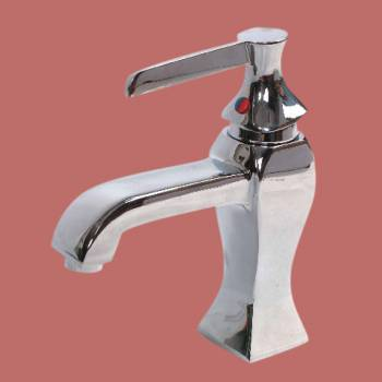 Jonathan Single Lever Faucet - Glass sinks, Glass sink info & unique Glass accessories, quantity discounts on Glass sinks, Glass pedestal sinks, Glass wall mount sinks, Glass console sinks, counter top Glass sinks, Glass counter top sinks, Glass pedestal sinks, bathroom fixtures, Glass bathroom sinks, sink faucets & free shipping by Renovator's Supply.