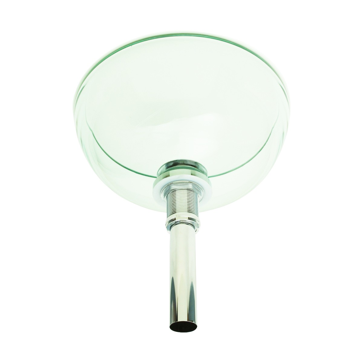 Bathroom Tempered Glass Vessel Sink Clear Mini Bowl Round with Popup Drain bathroom vessel sinks Countertop vessel sink Glass Vessel Bathroom Sink