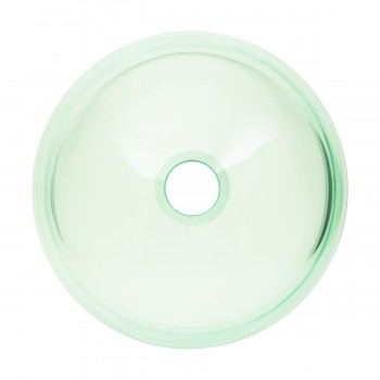 <PRE>Bathroom Tempered Glass Vessel Sink Clear Mini Bowl Round with Popup Drain</PRE>zoom5