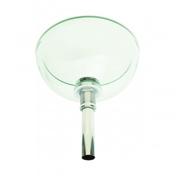 <PRE>Bathroom Tempered Glass Vessel Sink Clear Mini Bowl Round with Popup Drain</PRE>zoom6