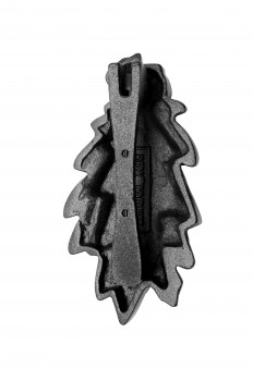 <PRE>Door Knocker Black Cast Iron Oak Leaf 6 Inch X 3 Inch</PRE>zoom3