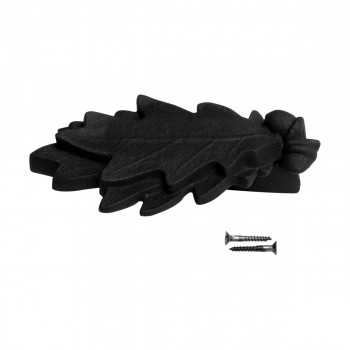 <PRE>Door Knocker Black Cast Iron Oak Leaf 6 Inch X 3 Inch</PRE>zoom7
