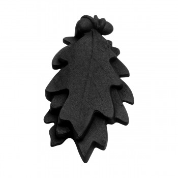<PRE>Door Knocker Black Cast Iron Oak Leaf 6 Inch X 3 Inch</PRE>zoom8