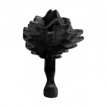<PRE>Door Knocker Black Cast Iron Oak Leaf 6 Inch X 3 Inch</PRE>zoom12