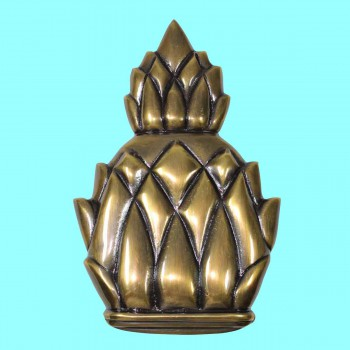 <PRE>Door Knocker Antique Brass Pineapple 6inchH </PRE>zoom2