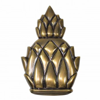 <PRE>Door Knocker Antique Brass Pineapple 6inchH </PRE>zoom1