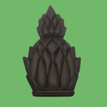 <PRE>Door Knocker Black Cast Iron Pineapple 6inchH </PRE>zoom2