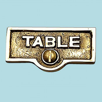 Switch Plate Tags TABLE Name Signs Labels Lacquered Brass Switch Plate Labels Switch Plate ID Labels Switch Plate Label