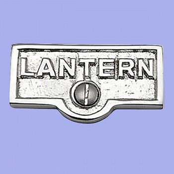 <PRE>Switch Plate Tags LANTERN Name Signs Labels Chrome Brass </PRE>
