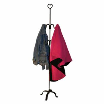 Coat Rack Handcrafted Wrought Iron RSF