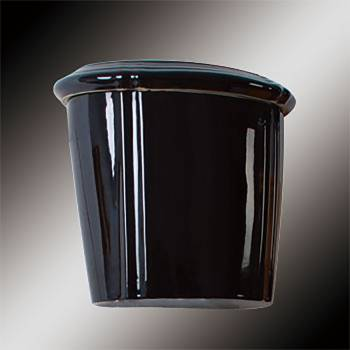 spec-<PRE>Toilet Part Black Vitreous Sheffield Tank Only </PRE>