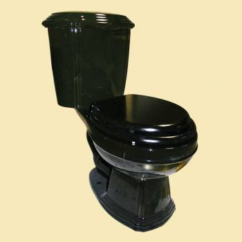 <PRE>Black Elegant Dual Flush Two-Piece Round Front Toilet</PRE>zoom2