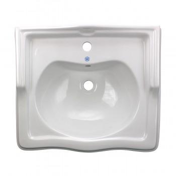 <PRE>Renovator's Supply White Vitreous China Bathroom Pedestal Sink Overflow Hole</PRE>zoom3