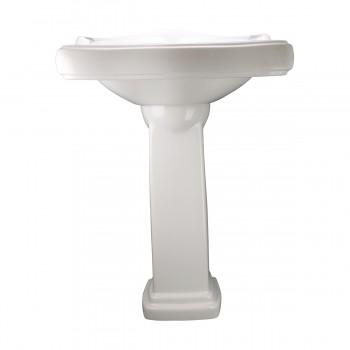 <PRE>Renovator's Supply White Vitreous China Bathroom Pedestal Sink Overflow Hole</PRE>zoom11