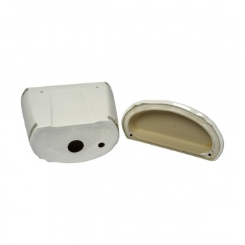 <PRE>Part White/Green Vitreous China Toilet TANK ONLY L-pipe Sage Gr. & Gol</PRE>zoom5