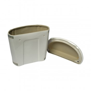 <PRE>Part White/Green Vitreous China Toilet TANK ONLY L-pipe Sage Gr. & Gol</PRE>zoom6
