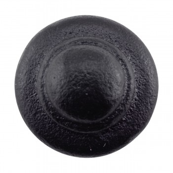 <PRE>Wrought Iron Cabinet Knob Black Round 1-1/8inch Dia. </PRE>zoom5