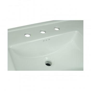 <PRE>Bathroom Pedestal Sink Basin White China Victoria Widespread</PRE>zoom3