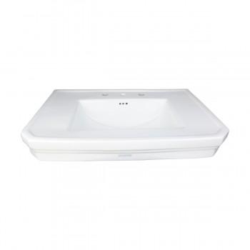 <PRE>Bathroom Pedestal Sink Basin White China Victoria Widespread</PRE>zoom7