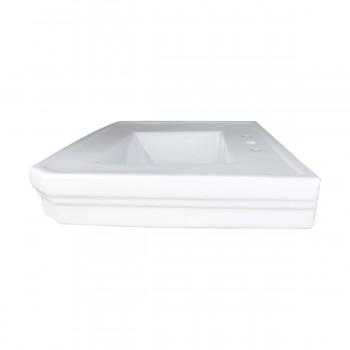 <PRE>Bathroom Pedestal Sink Basin White China Victoria Widespread</PRE>zoom9