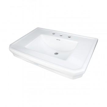 <PRE>Bathroom Pedestal Sink Basin White China Victoria Widespread</PRE>zoom11