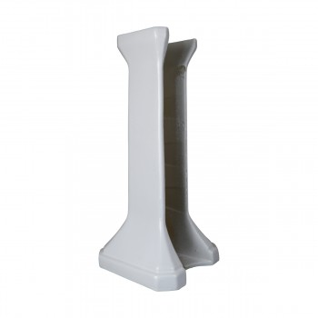 <PRE>Bathroom Sink Part White China Ashley Pedestal Only </PRE>zoom6