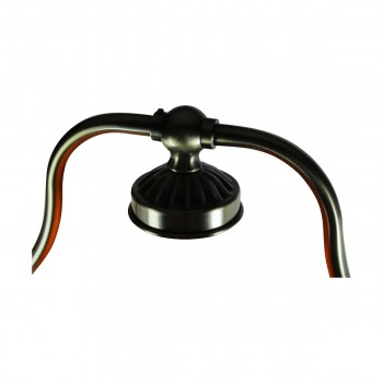 <PRE>Table Lamp Amber Antique Brass Lamp 17inchH </PRE>zoom8