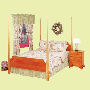 <PRE>Bed Heirloom Pine Queen Pencil Post Maple Posts </PRE>zoom2