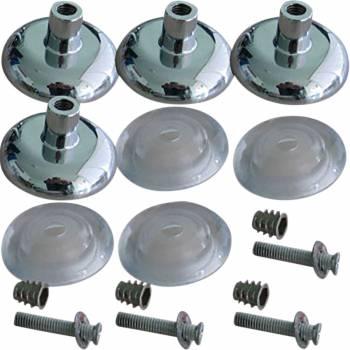 Sink Part Chrome Zinc Alloy Leg Extender set of 4 17873grid