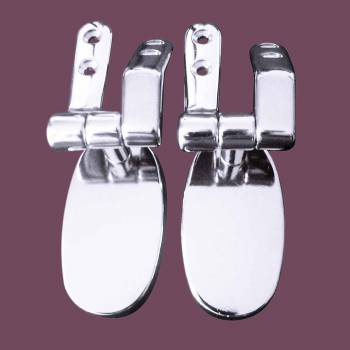 <PRE>Toilet Seat Chrome Toilet Seat Hinge 5.5inch Hole Space </PRE>zoom2