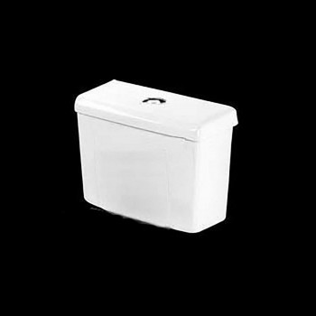 <PRE>Toilet Part White Saver Toilet Dual Top Flush Tank Only </PRE>zoom3