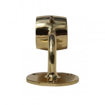 <PRE>Brass Loop Style Wall Mount Bar Bracket Fitting 2inch OD </PRE>zoom3