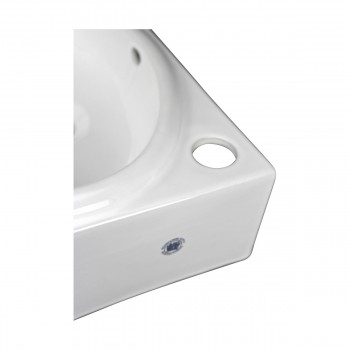 <PRE>Corner Wall Mount Bathroom Sink Above Counter Vessel White </PRE>zoom10