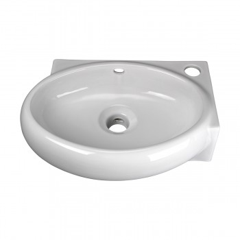 <PRE>Corner Wall Mount Bathroom Sink Above Counter Vessel White </PRE>zoom11