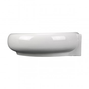 <PRE>Corner Wall Mount Bathroom Sink Above Counter Vessel White </PRE>zoom12