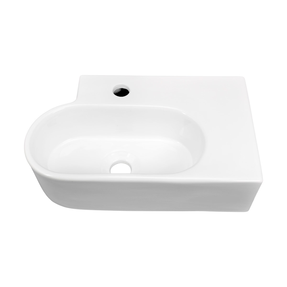 Renovators Supply White Bathroom Corner Wall Mount Above Counter Vessel Sink bathroom vessel sinks Countertop vessel sink Unique Bathroom Vessel Sink