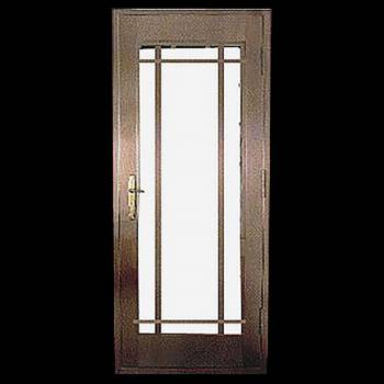 Security Door Copper Steel Security Door Copper over Steel17944grid