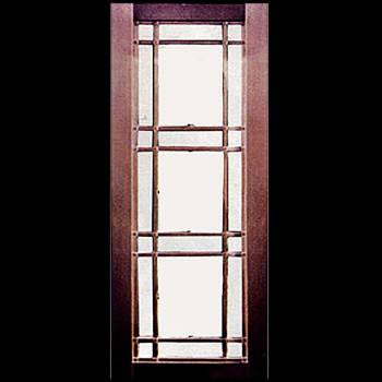 Security Door Copper Steel Security Door Copper over Steel17946grid