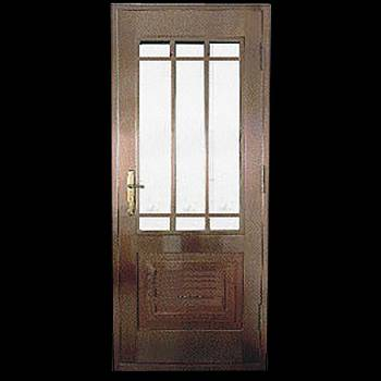 Security Door Copper Steel Security Door Copper over Steel17949grid