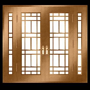 Security Door Copper Steel Security Door Copper over Steel17950grid
